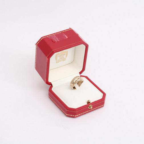 "Bague ""Amourettrinityor"" Cartier"
