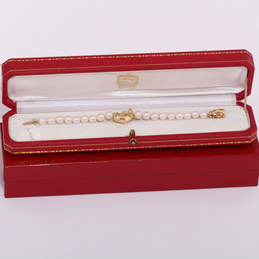 Bracelet dauphin et perles