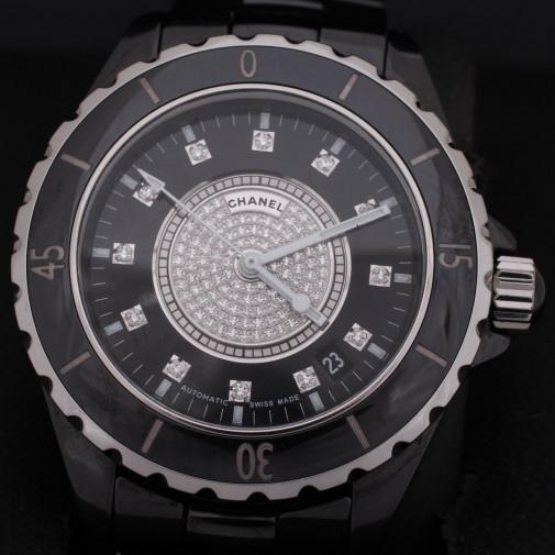 Montre J12 Pavage de diamants