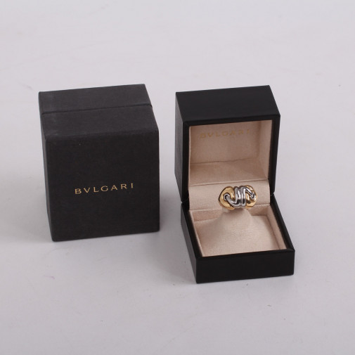 Imposante bague Naturalia 2 ors 18k