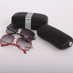 Lot de deux paires de lunettes de soleil pour dame