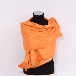 Étole H orange clair