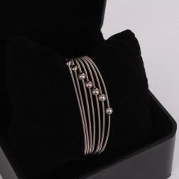 Serie de 7 bracelets Colette or 18k