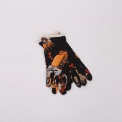 Paire de gants en soie Kashinas T. 6 1/2