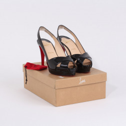 Paire de stilletos Saint-Tropez ouverts P.39