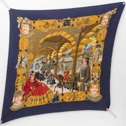Carré plissé Splendeur des Maharajas