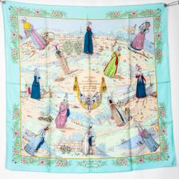 Carré Costumes des Départements de la Seine Inférieure du Calvados de la Manche et de l'Orne