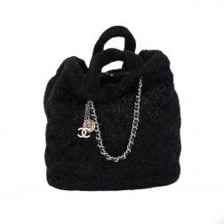 Grand sac Cabas  matelassé noir