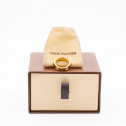 Bague Clous or jaune 18k et diamant