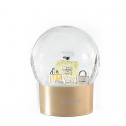 Boule de neige Chanel N°5 Collector Noel 2015