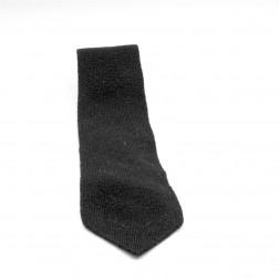 Cravate noire en laine 100%