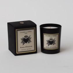 Bougie parfumée ROMEO ET JULIETTE  Jasmin du Soir d'après le ballet de Prokoviev. (Vendu par lot de 2 bougies)